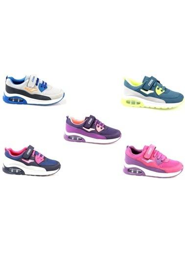 Cool Erkek-Kız Çocuk Airmax 5 Renk Günlük Spor Ayakkabı Pembe